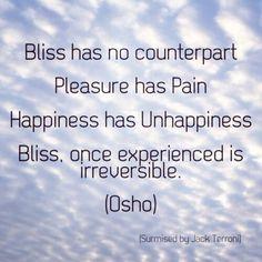 Osho on Bliss