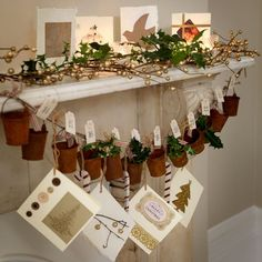 About christmas mantelpiece decorations on pinterest christmas