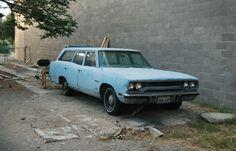 1970 Plymouth Satellite Station Wagon