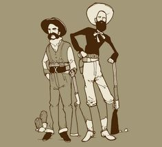 Optical Illusion Cowboys - http://www.moillusions.com/optical-illusion-cowboys/