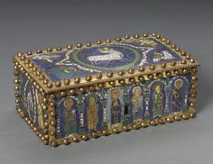 Northern Germany?, Romanesque period, 12th century, gilded copper, champlevé…
