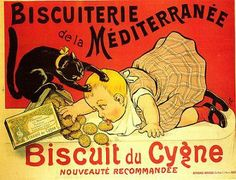 Cats in Art, Illustration, Photography and Design: Affiches anciennes publicitées