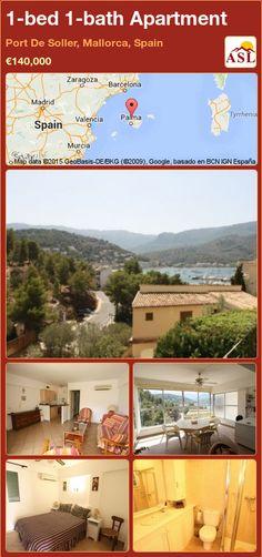 1-bed 1-bath Apartment in Port De Soller, Mallorca, Spain ►€140,000 #PropertyForSaleInSpain
