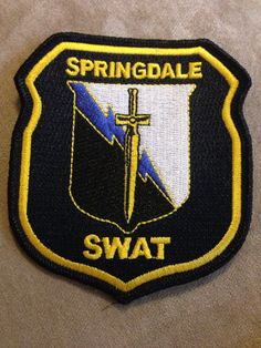 Springdale Police Department SWAT