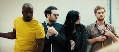 The Defenders : une saison 2 en prévision ? #thedefenders #netflix #daredevil#jessicajones#lukecage#ironfist #gozamdesign #equiptips #séries #series #movie #cinema