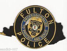 Fulton Police Kentucky patch