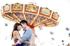 engagement portraits carnival | Engaged? We Want to Hear From You! « Southern Weddings Magazine