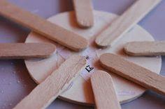 Popsicle Stick Snowflakes | Delicate Construction