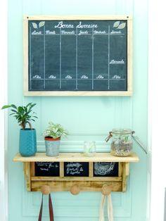 DIY organisation un semainier perpétuel et notre centre de commande familial simplifié 1
