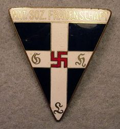 Nazi Artifacts: Mementoes, Badges, Pins and Painting