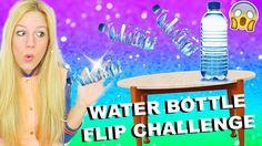 WATER BOTTLE FLIP CHALLENGE I TRICK SHOTS Compilation Deutsch I PatDIY Lee