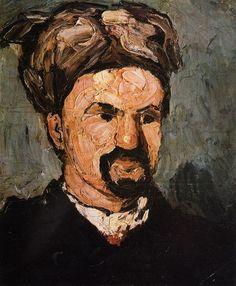 Paul Cézanne ~ Portrait of Uncle Dominique in a Turban, 1866