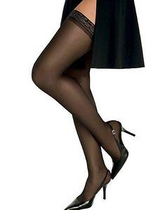 bbca548125b Hanes - Silk Reflections Silky Sheer Thigh High - Walmart.com