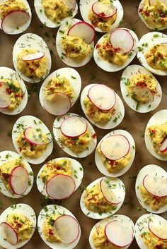 Extra-Special Deviled Eggs by joy the baker