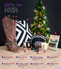 what every girl wants under her tree great selection of accessories candles home - What Every Girl Wants For Christmas