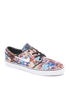 Nike Zoom Stefan Janoski Digi Floral Blue Shoe #pacsun
