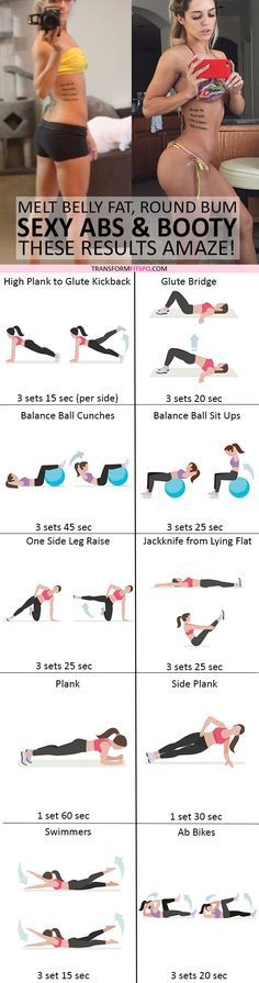 #womensworkout #workout #femalefitness Repin and share if this workout revealed your abs and grew your bum! Click the pin for the full workout.