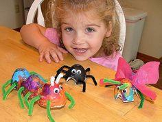 Build a Bug craft with egg cartons