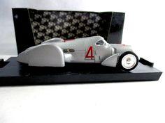 Auto Union C Rekordwagen #4 1937 Record Cars Brumm R108 Diecast 1:43 #Brumm #AutoUnion