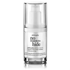 philosophy no reason to hide ingredients Review: 2015 CEW Insiders' Beauty Awards Finalist Announced For Best Makeup, Skincare, Fragrance Products Of The Year GREAT LIST OF PRODUCTS TO TRY