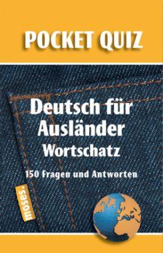 Deutsch für Ausländer/Wortschatz/Pocket-Quiz - vocabulary quiz cards to get students thinking and talking