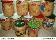 ČALAMÁDA - zelí, mrkev, papriky recept - TopRecepty.cz