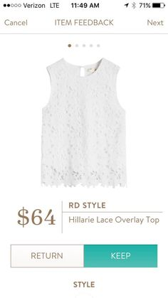 This top could go well with the navy Pixley Scallop skirt