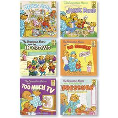 Berenstain Bears Positive Character Book Set - Character At Home. $23.95