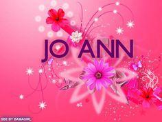 pink flowers~JoAnn