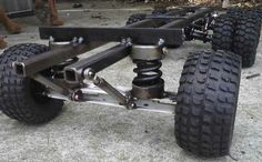 Suspension Mini Jeep, Mini Bike, Accessoires Quad, Go Kart Plans, 6x6 Truck, Atv Trailers, Diy Go Kart, Go Car, Power Wheels