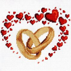 Wedding Cross Stitch Patterns, Graph Paper Art, Cat Cross Stitches, Crochet Curtains, Cross Stitch Heart, Projects To Try, Embroidery, Crafts, Nuttet