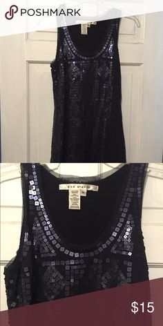 Party dress! 🍾💃🍸🍾 Sexy form fitting navy sequined party dress! Great for New Year's Eve! Max Studio Dresses