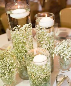 Navy pink rustic themed countryside wedding navy pink these babys breath centerpieces are a simple diy for those budget conscious brides if you like the look but dont want to make your own centerpieces then junglespirit Images