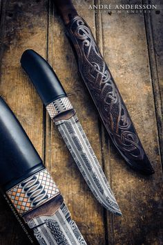 André Andersson custom knives from Sweden