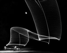 Sikorsky helicopter, night exposure, Feb. 1949 by Andreas Feininger