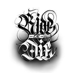 Calligraphie « Ride or Die Chicano Tattoos Lettering, Tattoo Lettering Design, Cursive Tattoos, Graffiti Lettering Fonts, Graffiti Tattoo, Graffiti Drawing, Tattoo Design Drawings, Chicano Style Tattoo, Graffiti Artists