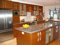 Modern Kitchen Cabinet With Glossy White And Brown Ideas With Creative Minimalist Kitchen Design And Small Traditional Kitchen Designs