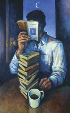 Second-Hand Stories, oil on canvas by David Carmack Lewis (2003 painting)