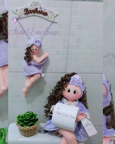 Diy Crafts - Ornaments,ToiletPaperHoldercrochet-It looks like nothing was found at this location. Maybe try one of the links below or a search? Bathroom Ornaments, Bathroom Crafts, Diy Toilet Paper Holder, Paper Holders, Vintage Paper Dolls, New Home Gifts, Soft Dolls, Miniature Dolls, Miniature Houses