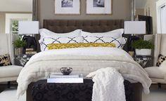 Luxurious Bedroom Decorating Designer Chic  Bedroom Decor www.OakvilleRealEstateOnline.com