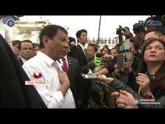 President Duterte ambush interview in Yokohama, Japan - YouTube