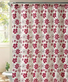 take a look at this red ammie shower curtain set by victoria classics on zulily