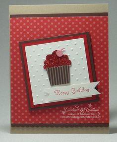 Beautiful card - Create A Cupcake,  Build A Cupcake Punch
