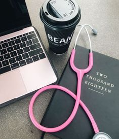 The essentials for med school: Coffee, your computer, and your favorite journal. And to top it all off, find a secret study spot and you'll be ready to own the semester. Medical Students, Medical School, Nursing Students, Nursing Schools, Medical Clip Art, Masters Degree In Nursing, Nurse Aesthetic, Medical Wallpaper, Nursing Wallpaper
