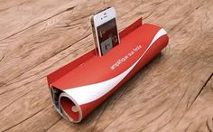 Coca-Cola Print Ad Doubles as iPhone Speaker. An ad ran on the inside cover of the magazine, with instructions on how to create the loudspeaker device for the iPhone. Communication, Funny Commercials, Funny Ads, Coca Cola Ad, Digital Campaign, Commercial Ads, Best Ads, Creative Advertising, Magazine Ads