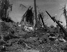 The Battle of Kwajalein was a battle of the Pacific campaign of World War II, fought from 31 January-3 February 1944, on Kwajalein Atoll in the Marshall Islands. Employing the hard-learned lessons of the battle of Tarawa, the United States launched a successful twin assault on the main islands of Kwajalein in the south and Roi-Namur in the north. The Japanese defenders put up a stiff resistance though outnumbered and under-prepared. The determined defense of Roi-Namur left only 51 survivors…
