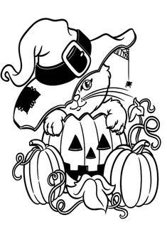 kostenlose ausmalbilder und malvorlagen: halloween zum ausmalen und ausdrucken | halloween