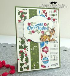 2015   Cozy Christmas Clear-Mount Stamp Set139779 Home For Christmas Designer Series Paper139592