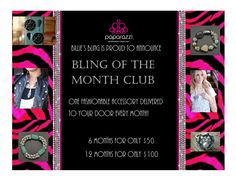 Bling of the Month Club! www.facebook.com/billiesbling
