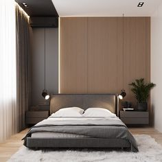 130 minimalist bedroom decor ideas that are not too much but just enough 19 Modern Luxury Bedroom, Master Bedroom Interior, Luxury Bedroom Design, Modern Master Bedroom, Home Room Design, Master Bedroom Design, Minimalist Bedroom, Contemporary Bedroom, Luxurious Bedrooms